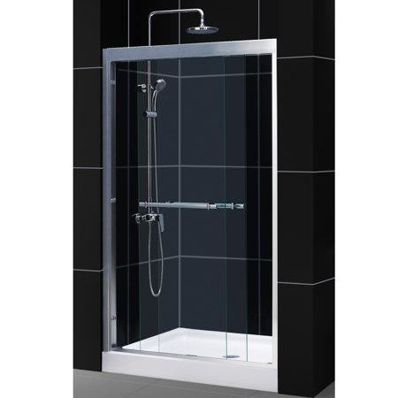 Dreamline Duet 44 48 Inch Frameless Bypass Sliding Shower Door