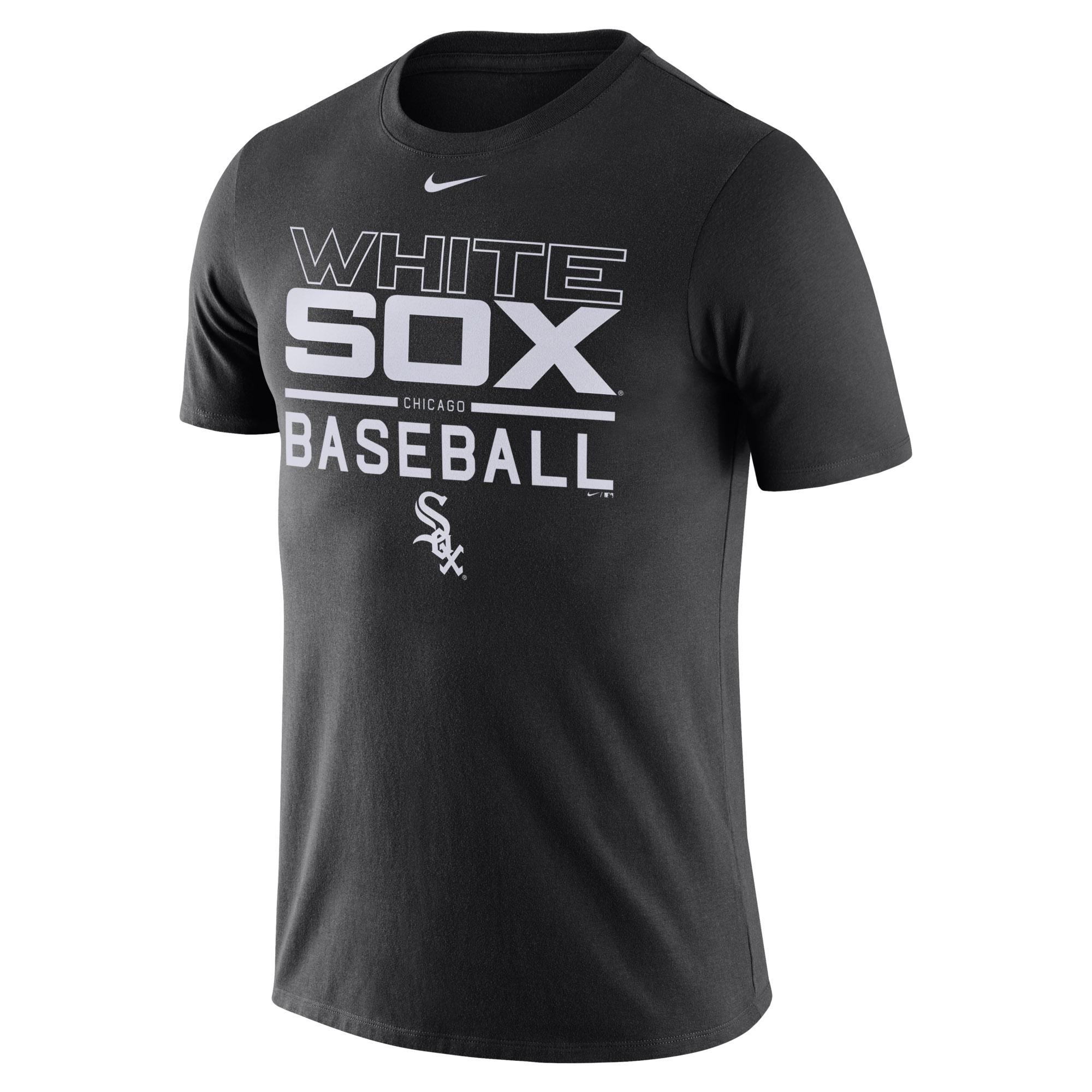 Chicago White Sox Nike Practice T-Shirt - Black -
