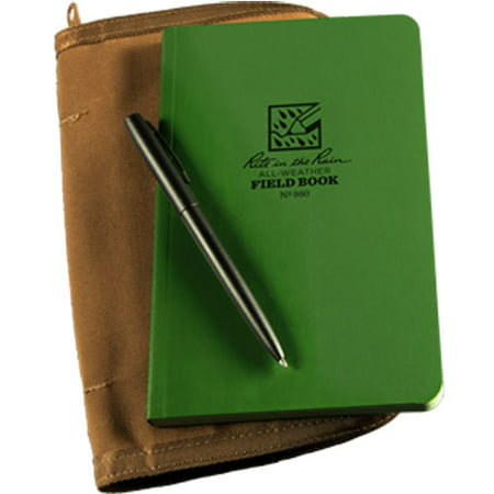 Rite In Rain (J. L. Darling Corporation) Green Field Book Kit RR 980-KIT