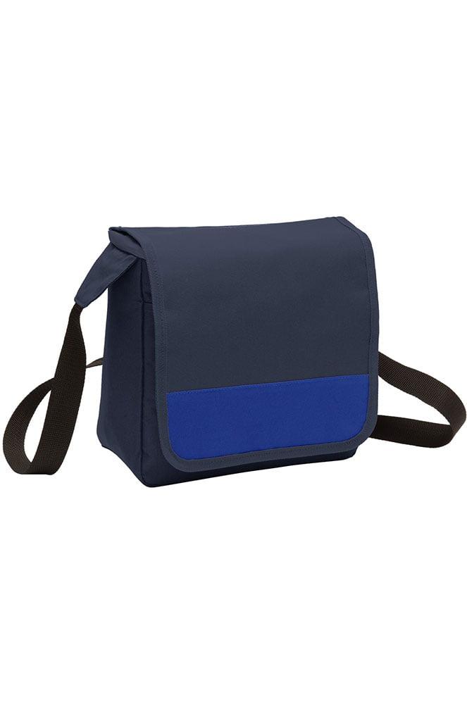 Port Authority Adjustable Webbing Strap Lunch Cooler Messenger Bag BG753