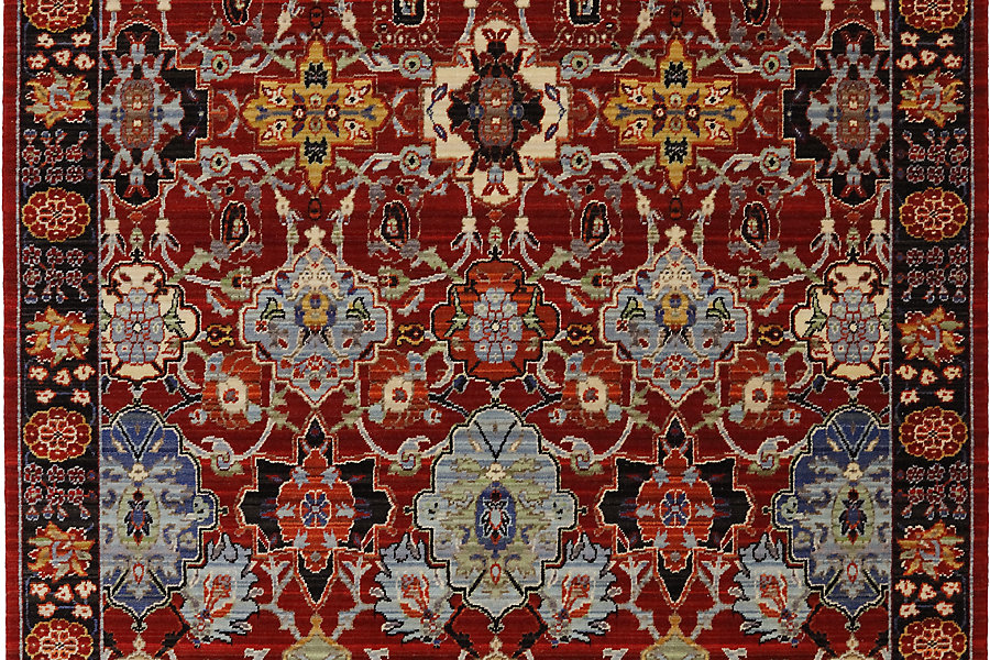 "Karastan Bravado Mahir Red (8' 6""x11' 6"") by Mohwak Home"