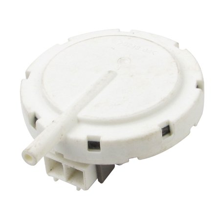 Unique Bargains 58mm Diameter 2 Terminals Water Level Switch for Panasonic Washing Machine This water level pressure switch is for washing machine use.With 2 terminals design, ideal replacement for your old washing machine water level switch.For Panasonic washing machine only.This is a Non-OEM product.