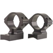 """Talley 930724 Low Rings and Base Set T/C Encore/Pro Hunter 1"""" Style Black Finish"""