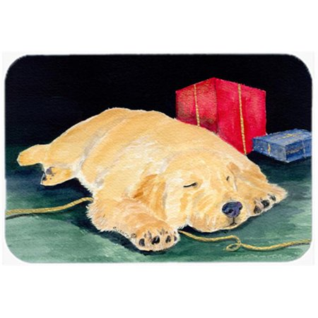 Carolines Treasures SS8576LCB 12 x 15 in. Golden Retriever Glass Cutting Board, Large - image 1 de 1