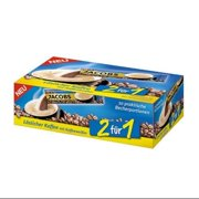 Jacobs 2 in 1- Instant Coffee with Cream (10 x 16 g)-Pack of 2