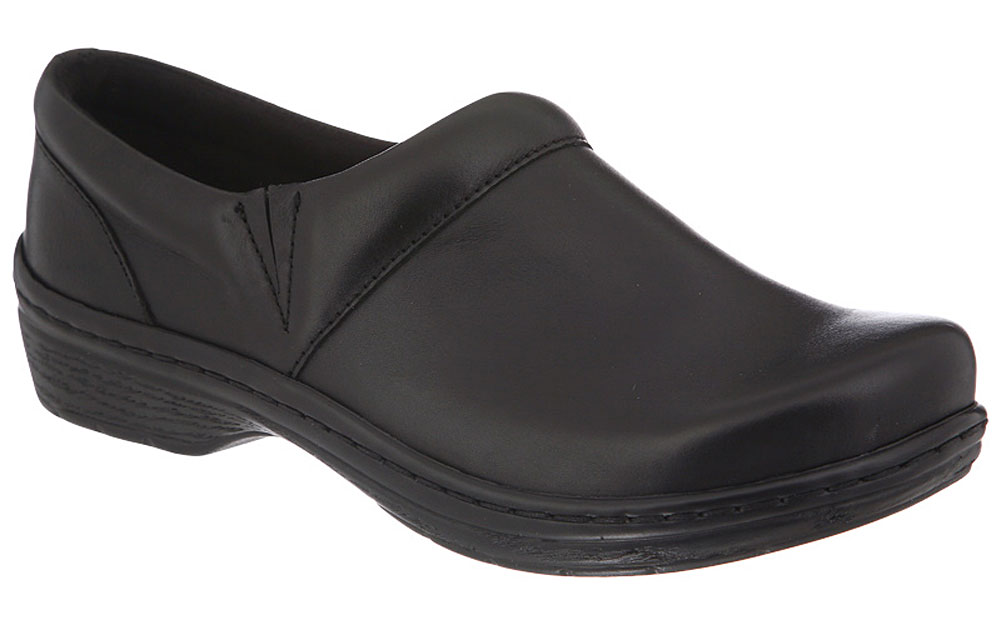 Klogs Mission Leather Clog Many Colors Black Smooth Women's by Latitudes Inc.
