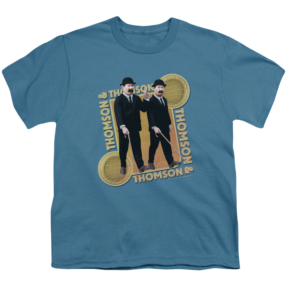 Tintin Thompson & Thompson Big Boys Youth Shirt