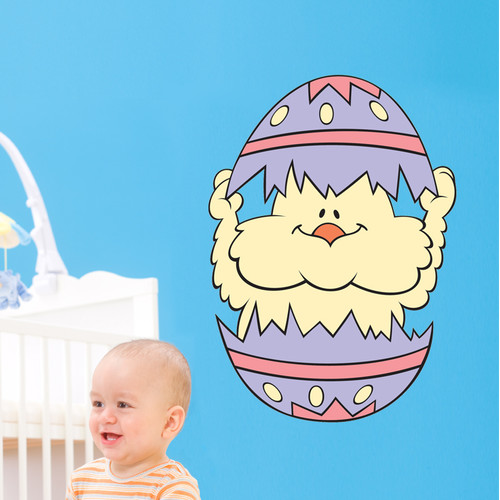 Wallhogs Easter Chick Cutout Wall Decal