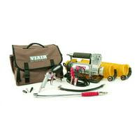 Viair 400P-RV Automatic Portable 12V, 150 PSI Air Compressor Kit for RV Tires
