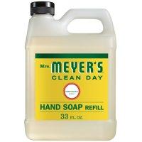 Mrs. Meyer's Clean Day Liquid Hand Soap Refill, Honeysuckle, 33 Oz