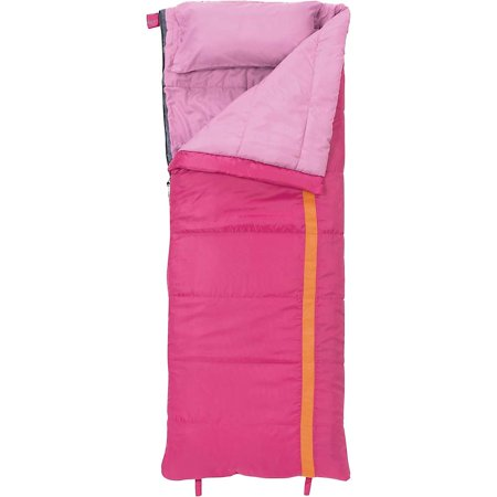 Slumberjack Girls' Kit 40 Degree Sleeping Bag - Girls Sleeping Bag