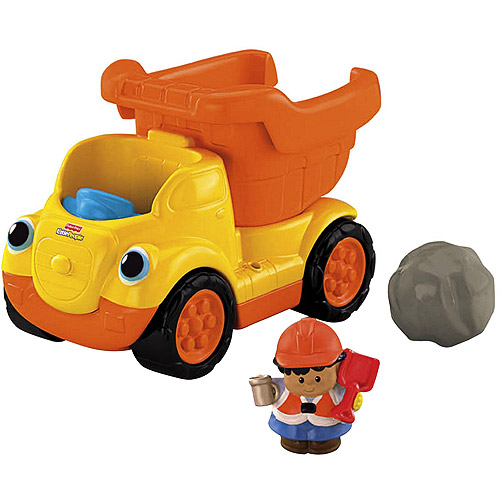 Fisher-Price Little People Rumblin' Rocks Dump Truck
