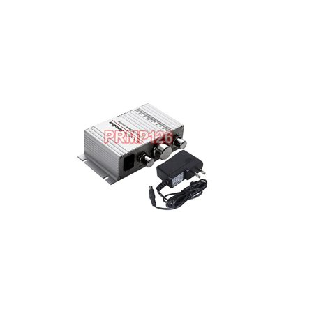 Controller Amplifier (Mini Stereo Amplifier With 40W RMS Output and Volume Tremble Bass Controller )