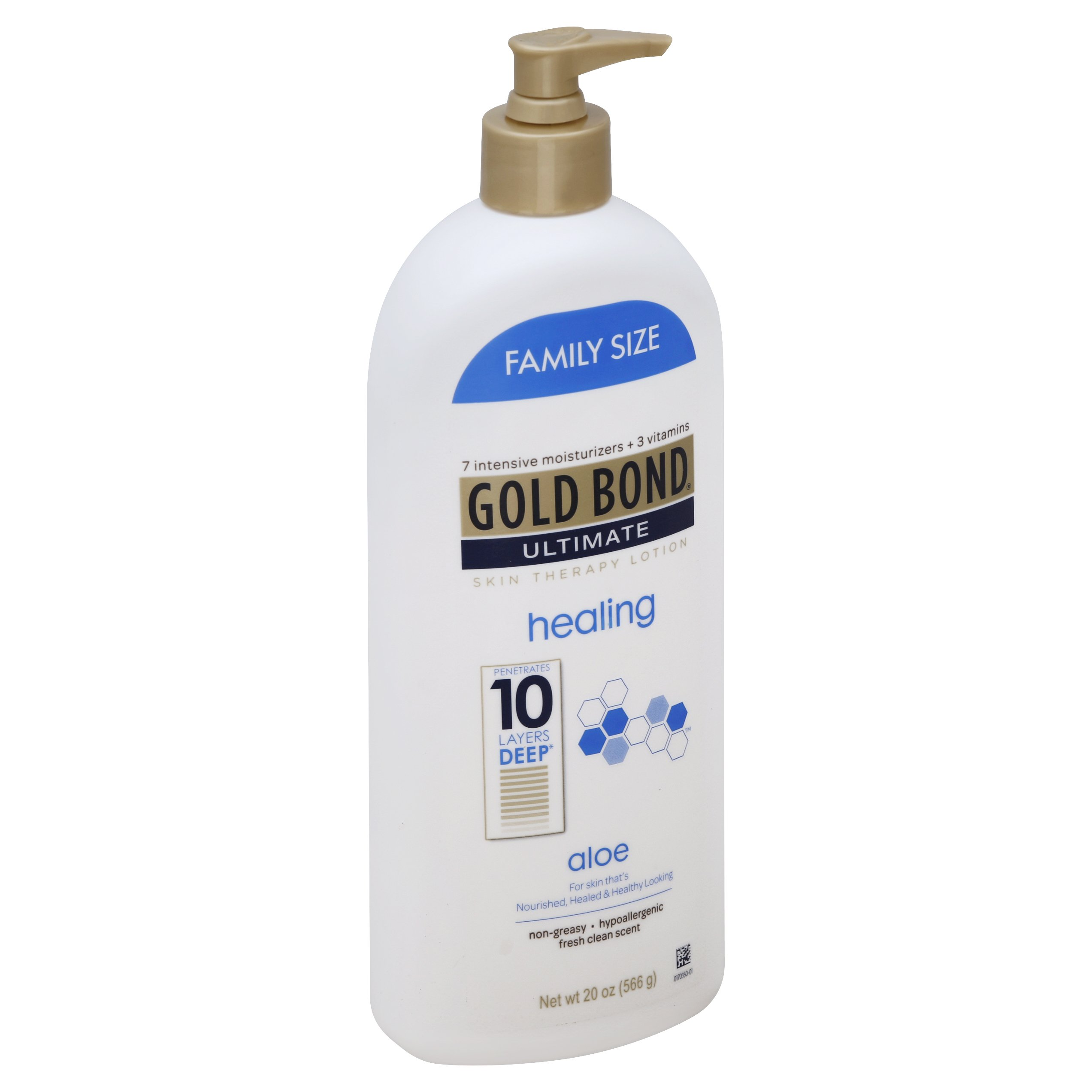 gold bond ultimate healing lotion with aloe family size 20oz