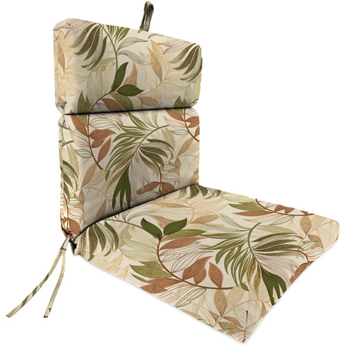 Jordan Manufacturing Outdoor Patio Replacement Chair Cushion, Oasis Nutmeg