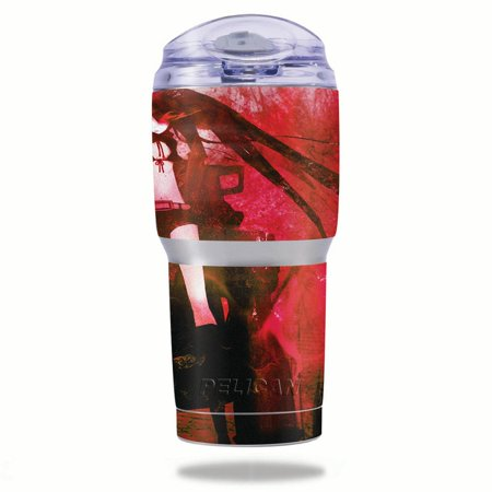 MightySkins Protective Vinyl Skin Decal for Pelican Tumbler 22 oz wrap cover sticker skins Anime (Anime Halloween Gif Tumblr)