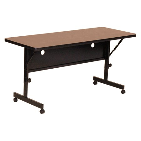 Correll Deluxe Flip Top Table - High Pressure Top - 24x72