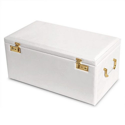 Morelle Company Leather Jewelry Box