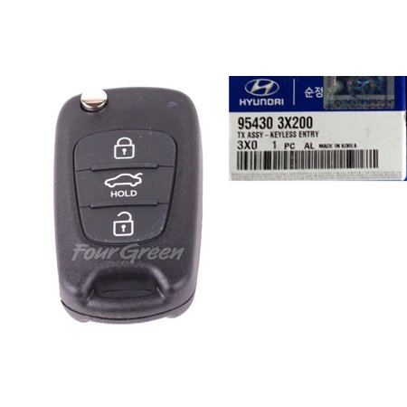 - Genuine REMOTE CONTROL KEYLESS ENTRY Hyundai ELANTRA 11-12 [954303X200]