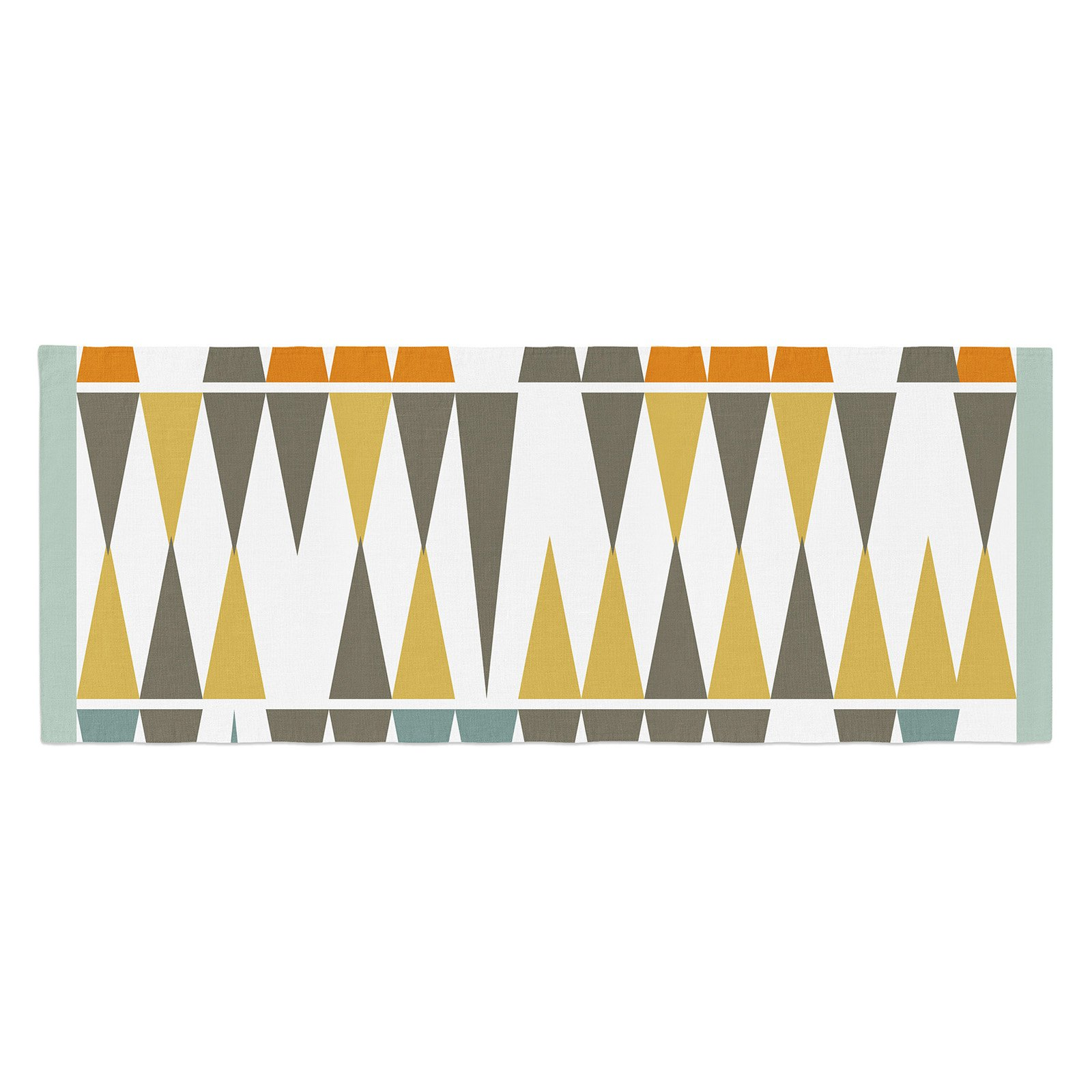 Pellerina Design Diamond Kilim Bed Runner by Kess InHouse