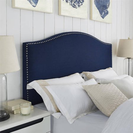 Better Homes & Gardens Grayson Headboard, Navy, Full/Queen