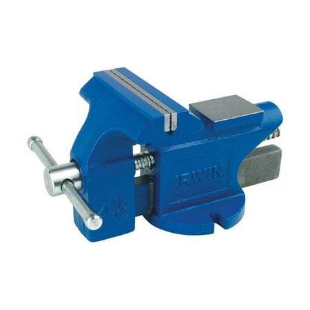 Irwin 4.5 in. Steel Bench Vise