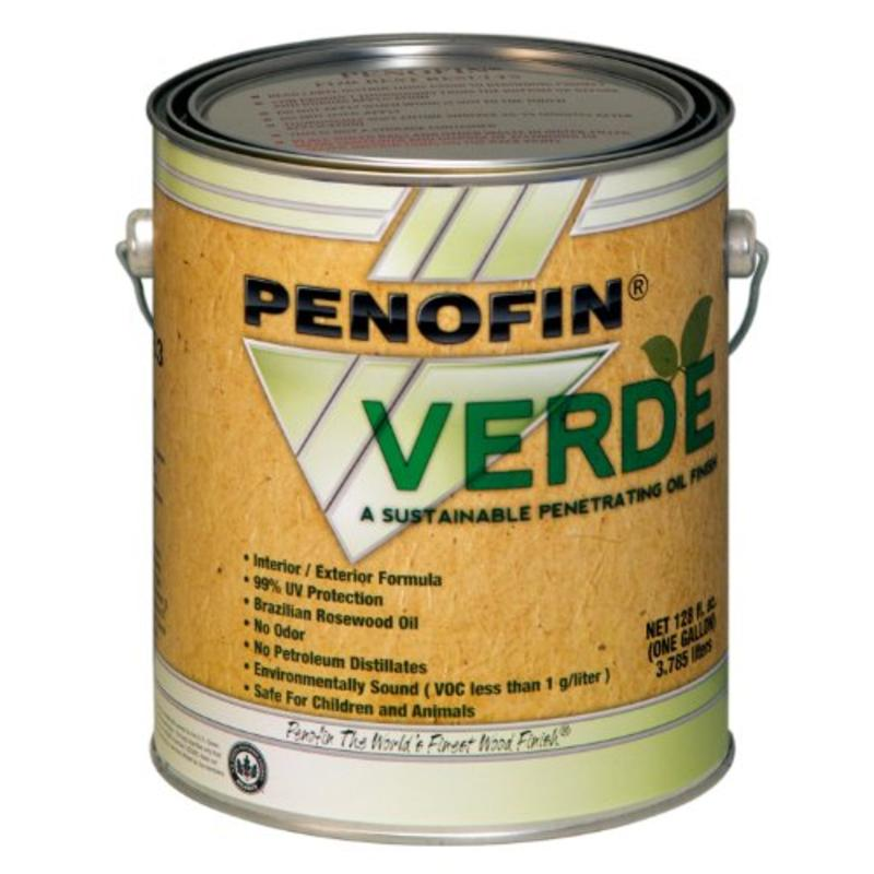Penofin Verde Sustainable Wood Finish, 1-Gallon, Hickory Performance Coatings