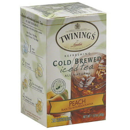 Twinings Of London Peach Cold Brewed Ice