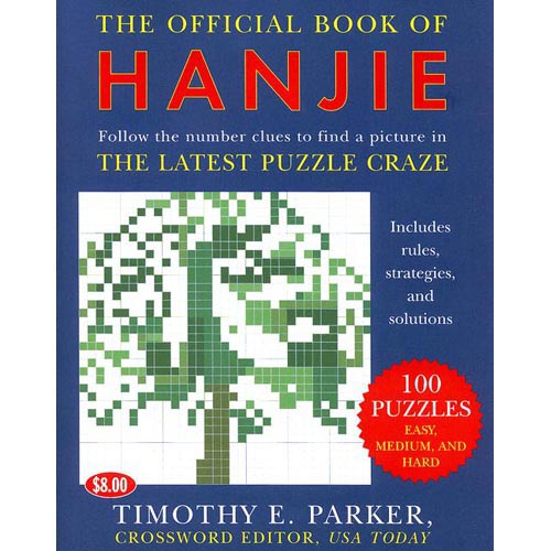 The Official Book of Hanjie: 100 Puzzles