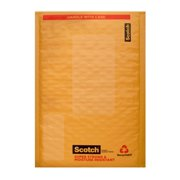 Scotch Plastic Bubble Mailer, 4 in. x 7.25 in., Yellow, 1 Pack