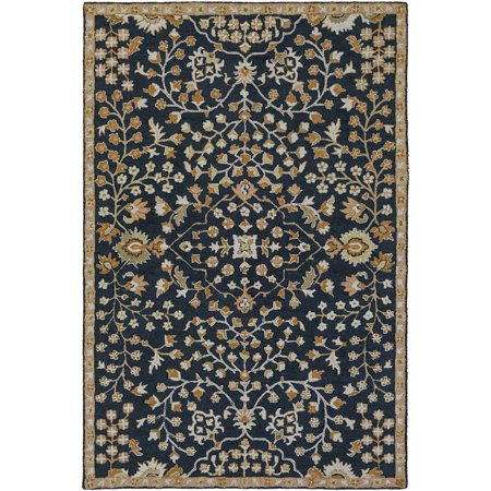 Traditional Carlton Collection Area Rug in Oatmeal and Oval, Rectangle, Round, Runner Shape