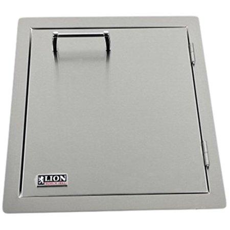 - Lion Premium Grills L62945 Vertical Door with Towel Rack, 17-7/8 by 22-Inch