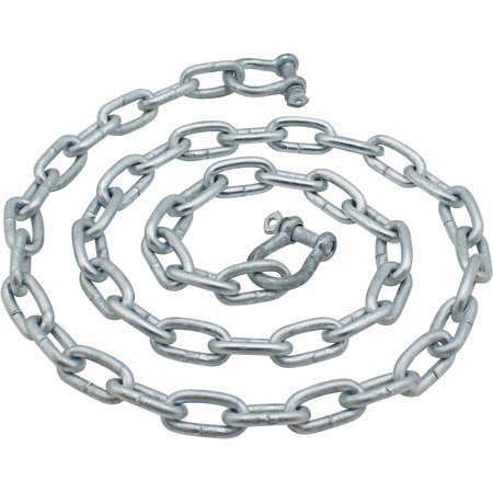 Extreme Max BoatTector Galvanized Steel Anchor (Anchor Chain Sizes)