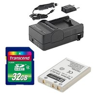 Nikon Coolpix P530 Digital Camera Accessory Kit includes: SDENEL5 Battery, SDM-136 Charger, SD32GB Memory Card