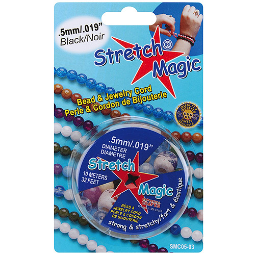 Stretch Magic Bead and Jewelry Cord, 0.5mm, 10m