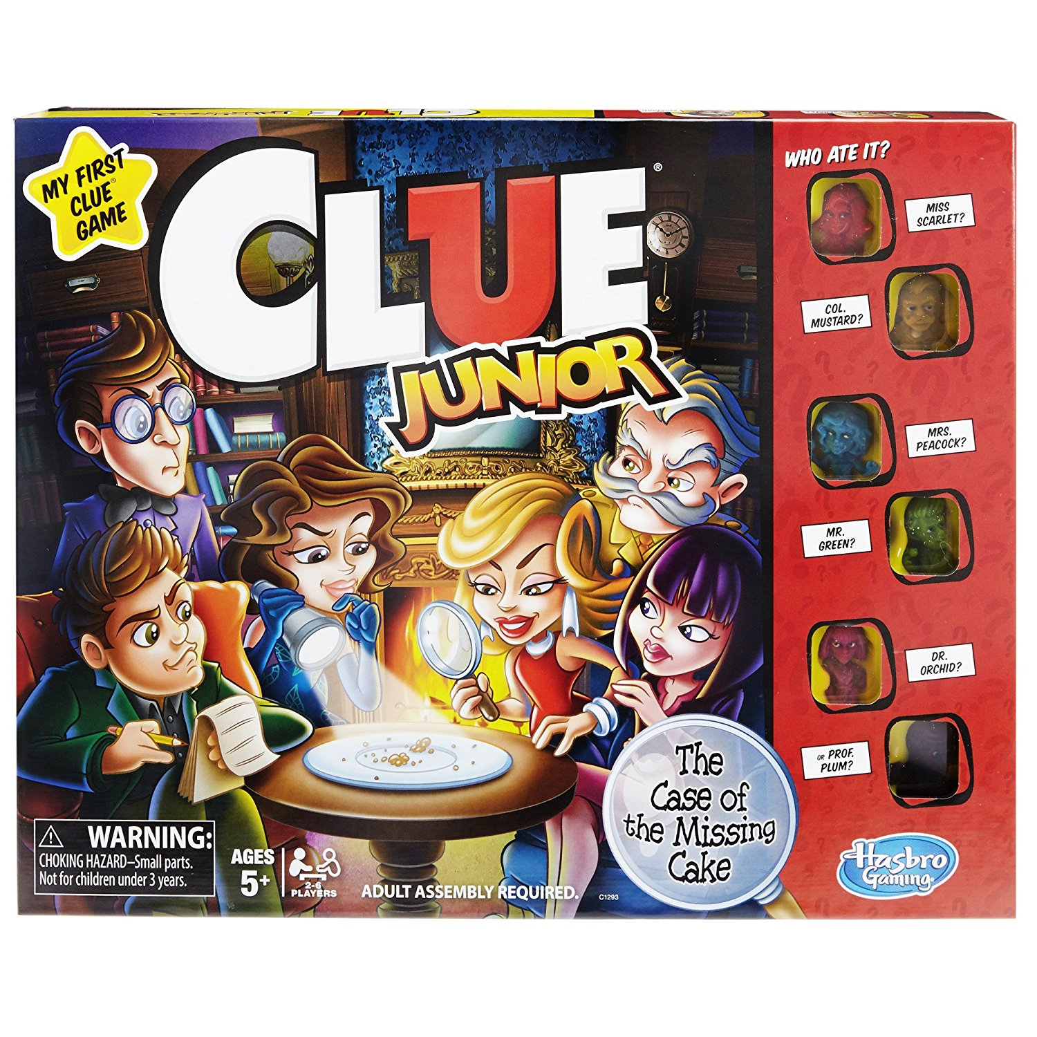 Clue Junior Game, Version of the popular Clue game for younger kids By Hasbro by