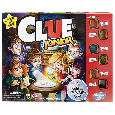 Clue Junior Game  Version Of The Popular Clue Game For Younger Kids By Hasbro