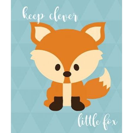 Woodland Clever Fox Poster Print by  Anna Quach - Woodland Fox