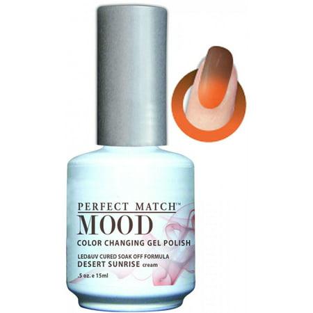 Lechat Perfect Match Mood Color Changing Gel Polish 0 5oz 15ml Mpmg23 Desert Sunrise