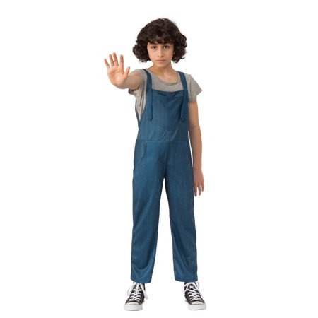 Halloween Stranger Things 2 Kids Eleven's Overalls Child - Thing Halloween Costume