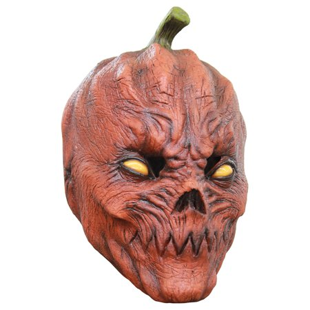 Halloween Pumpkin Head Drawings (CARETAS REV S.A. DE C.V Pumpkin Head Halloween Costume Accessories, One)