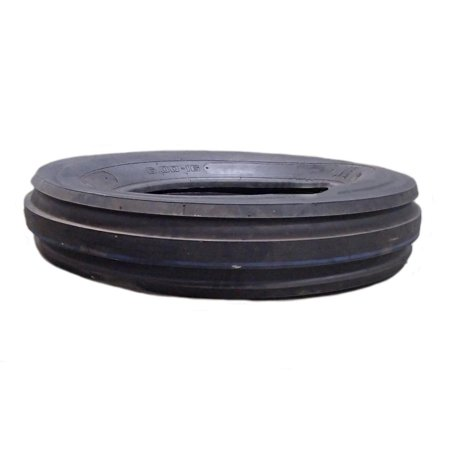 Front Tractor Tire (One (1)- 6.00-16 600-16 600x16 6.00x16 F-2 Tri 3 Rib Front Tractor Tire DS5125)