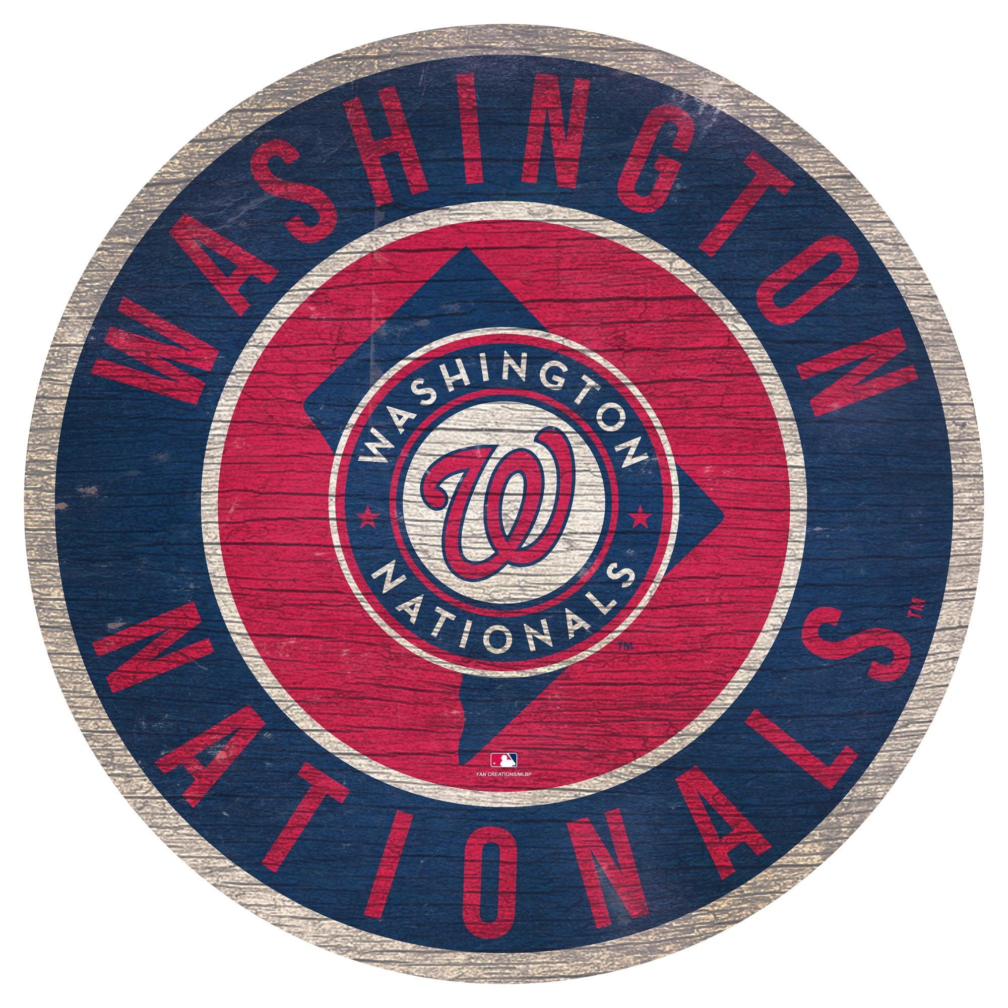 Washington Nationals 12'' x 12'' State Circle Sign - No Size
