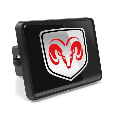 Dodge Hitch Cover (Dodge RAM ABS Plastic 2 Plug Tow Hitch Cover)