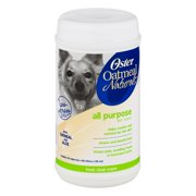 Oster All Purpose Pet Wipes Oatmeal, 50.0 CT