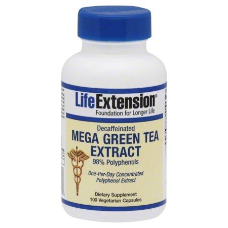 Quality Supplements and Vitamins LifeExtension Mega Green Tea Extract, 100 ea