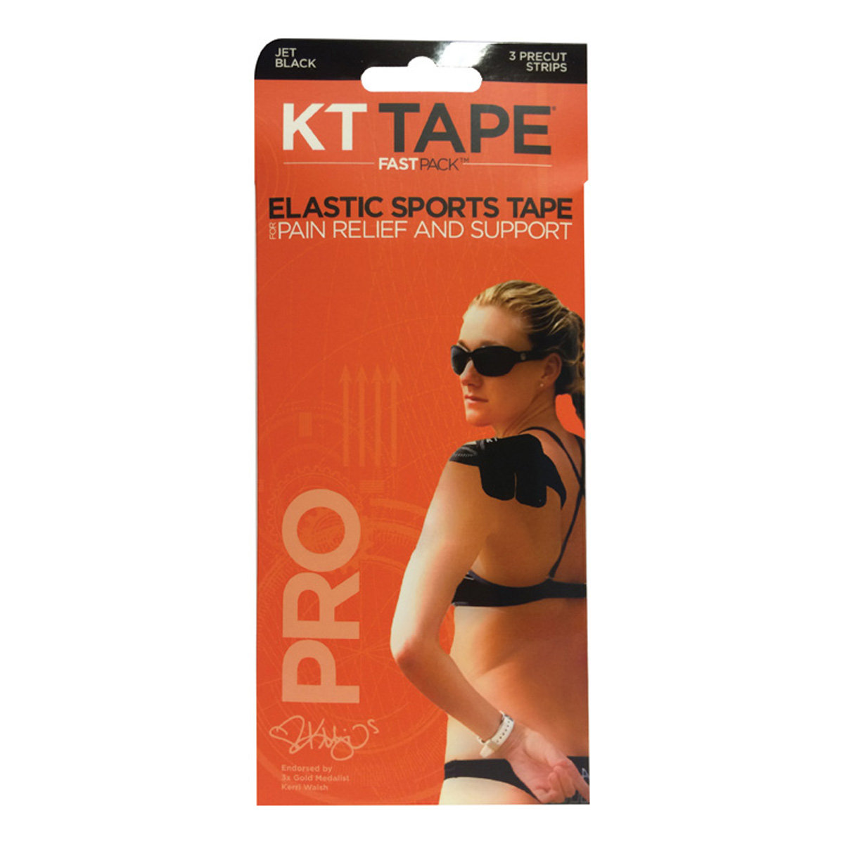 KT Tape Pro-Synth Kinesiology Therapeutic Tape Fastpack