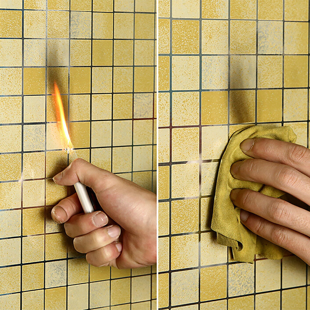 Bathroom Kitchen Waterproof Self-adhesive Stickers Mosaic Tile Sticker