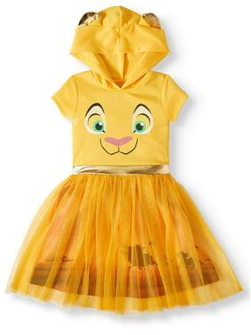 e6230bf52a0 Product Image Nala Lion King Cosplay Dress With Hood (Little Girls & Big  Girls)