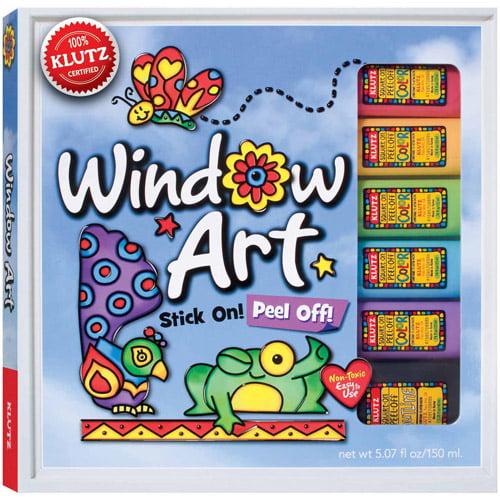 Window Art Activity Book